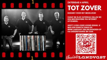 Back to Vinyl 4 april 2020 ging toch nog door